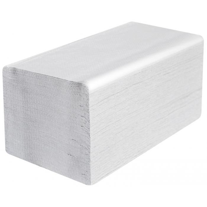 Papírové ručníky ZZ - šedé - 1vrstvé - 5000ks