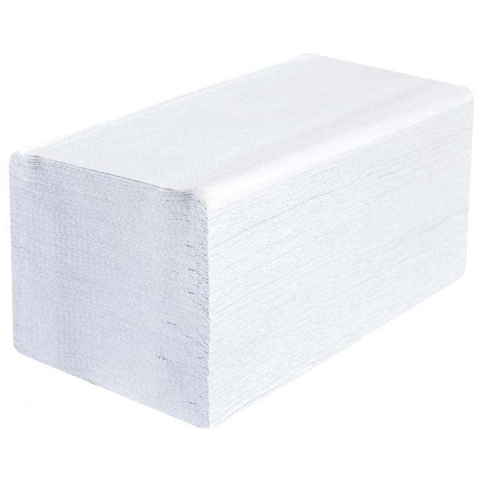 Papírové ručníky ZZ - bílé - 2vrstvé - 3140ks