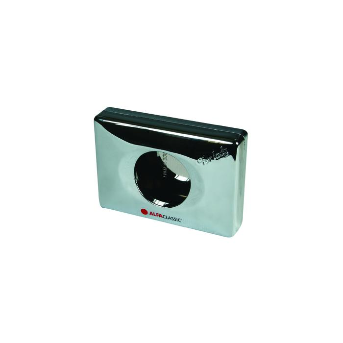 Zásobník na hygienické sáčky - stříbrný/chrom