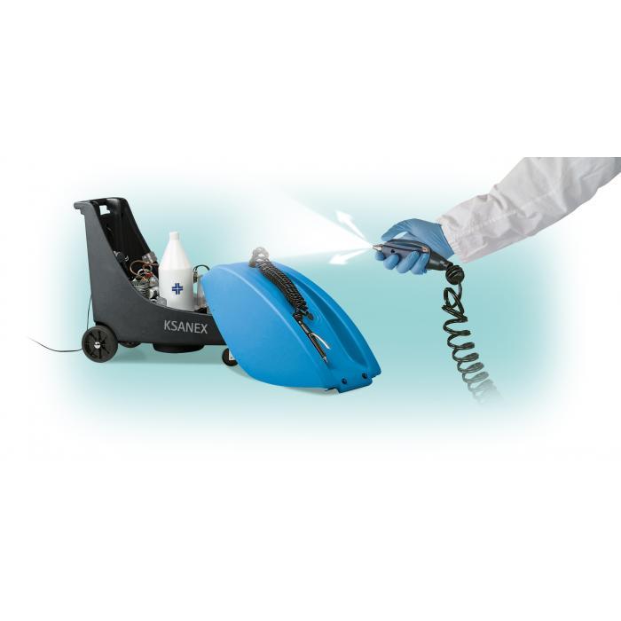 Dezinfekční přístroj KSANEX  + 4x 5l kanystr SANIT ALL AIR zdarma