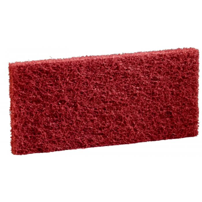 3M DOODLEBUG - ruční pad - červený