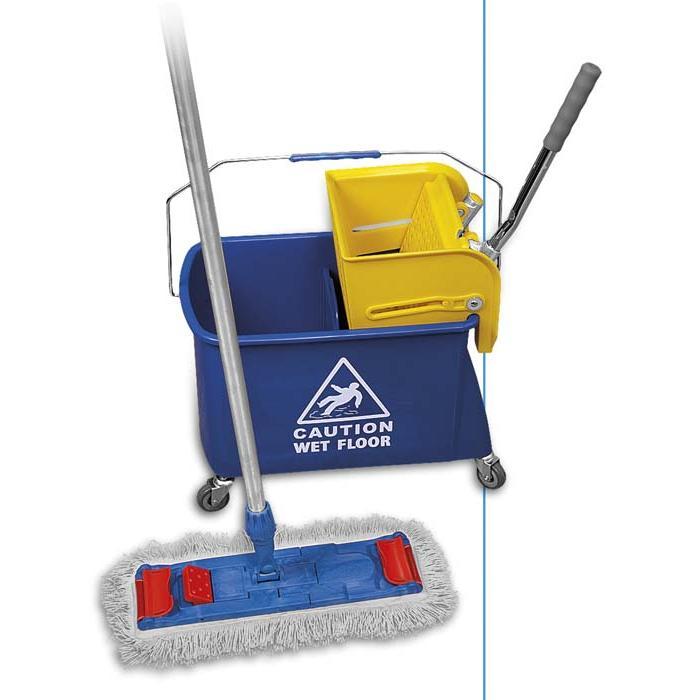 Plastový vozík úklidový